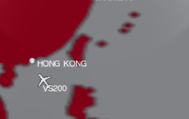 Virgin Atlantic app screenshot