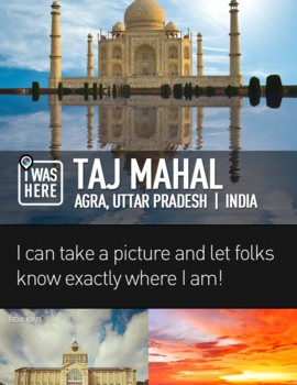 InstaPlace iOS app screen examples
